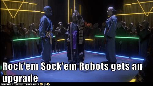 Babylon 5,upgrade,rock em sock em robots,fight