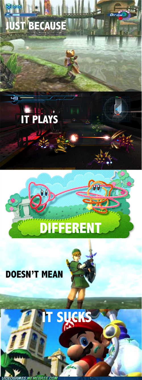 gamers,different,nintendo