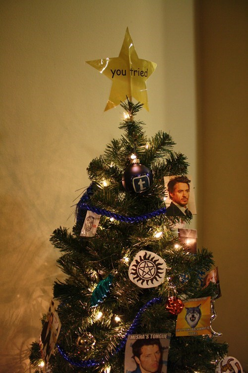 Holiday Spirit of the Day: Tumblr Christmas Tree