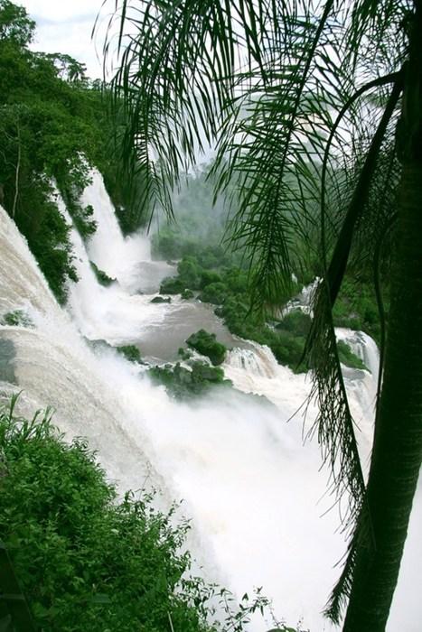 river,landscape,falls