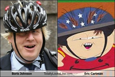 Boris Johnson Totally Looks Like Eric Cartman