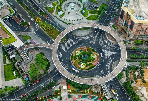 Nice Structure of the Day: Shanghai's Circular Walkway
