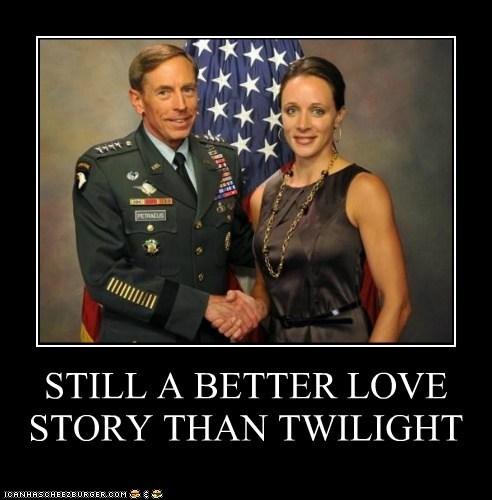 David Petraeus,paula broadwell,affair,still a better love story than twilight