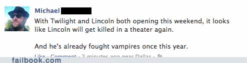 Abraham Lincoln: Cullen Hunter