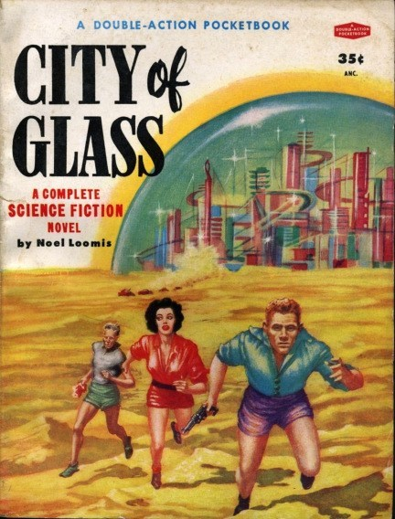 WTF Sci-Fi Book Covers: City of Glass