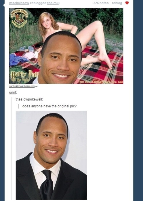 Do You Smell What the Rock is Shoppin'?