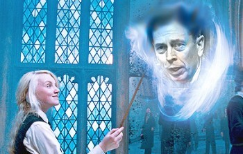 David Petraeus,evanna lynch,Harry Potter,pun,luna lovegood,spell,expecto patronum