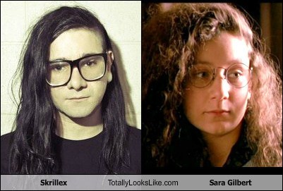 Skrillex Totally Looks Like Sara Gilbert