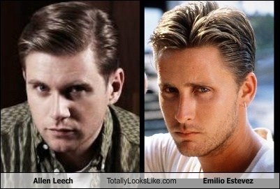 Allen Leech Totally Looks Like Emilio Estevez