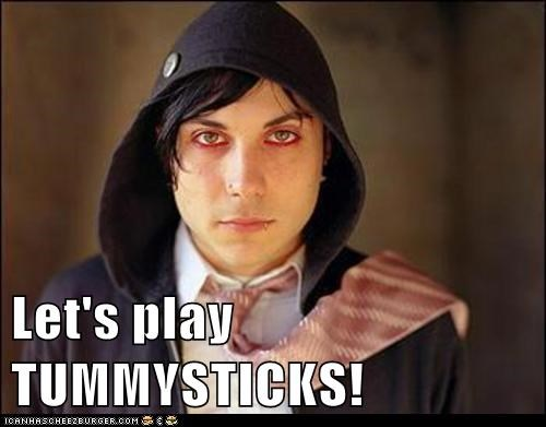 Let's play TUMMYSTICKS!