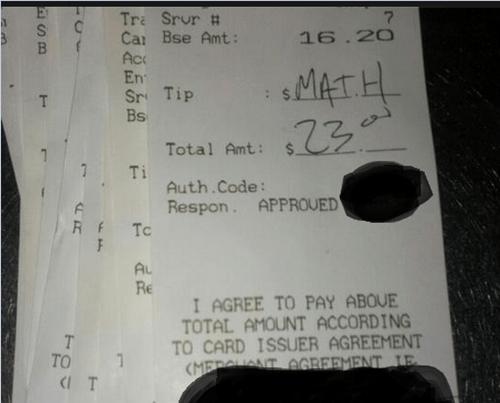 tip,tipping,receipt