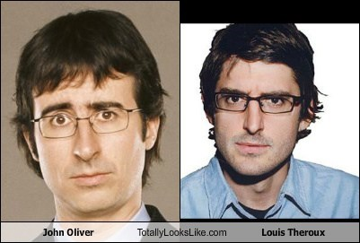 John Oliver Totally Looks Like Louis Theroux