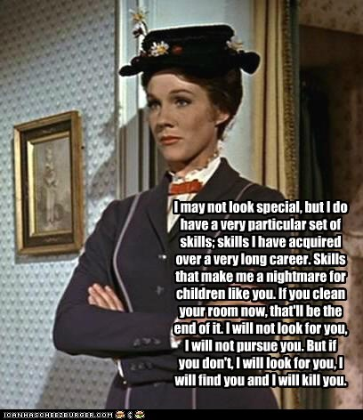 Mary Poppins: Nanny, Assassin