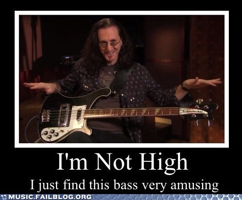 geddy lee,high,rush,bass
