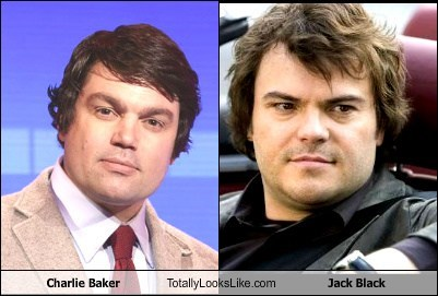 Charlie Baker Totally Looks Like Jack Black