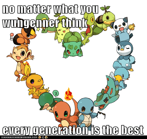 no matter what you wungenner think  every generation is the best