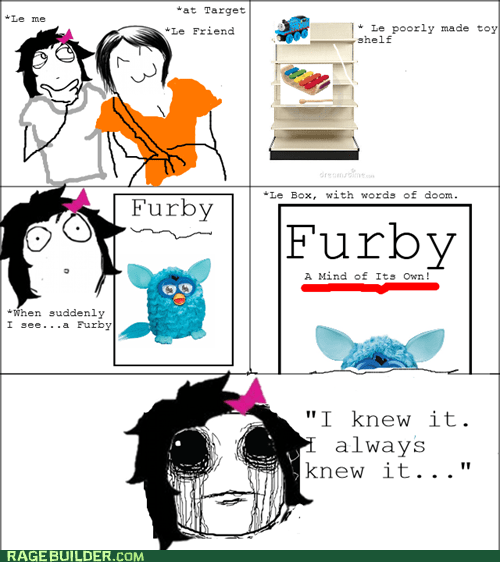 holiday shopping,numb,toy,creepy,furby,mind,Target