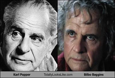 Bilbo Baggins,actor,TLL,karl popper,Ian Holm,funny