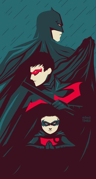 nightwing,robin,batman,damien