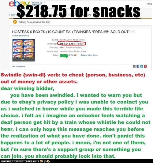 $218.75 for snacks