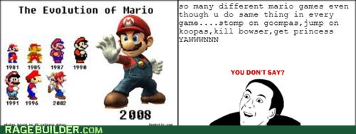 same old mario