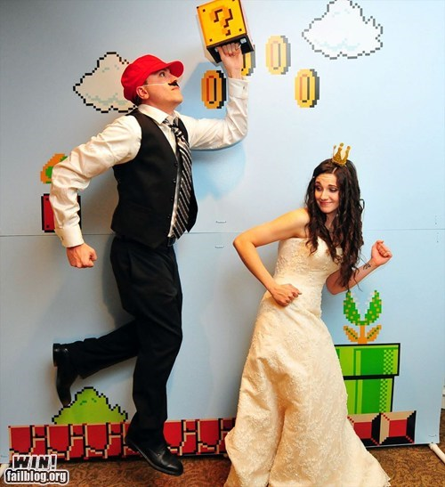 Super Mario Wedding WIN