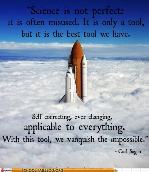 Oh Sagan. You're so Wise