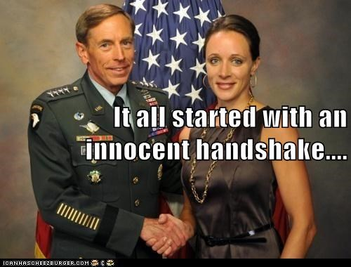It all started with an innocent handshake....
