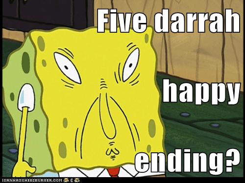 Five darrah happy ending?