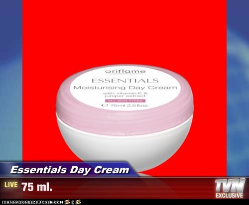 Essentials Day Cream - 75 ml.