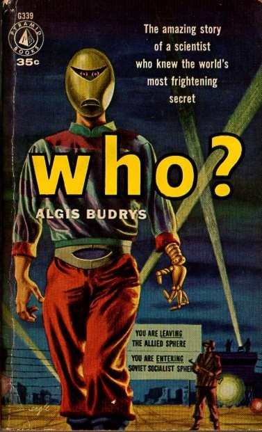 WTF Sci-Fi Book Covers: Who?