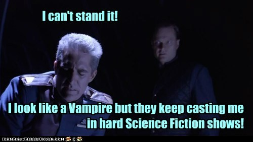 Babylon 5,jerry doyle,vampire,sci fi,michael garibaldi