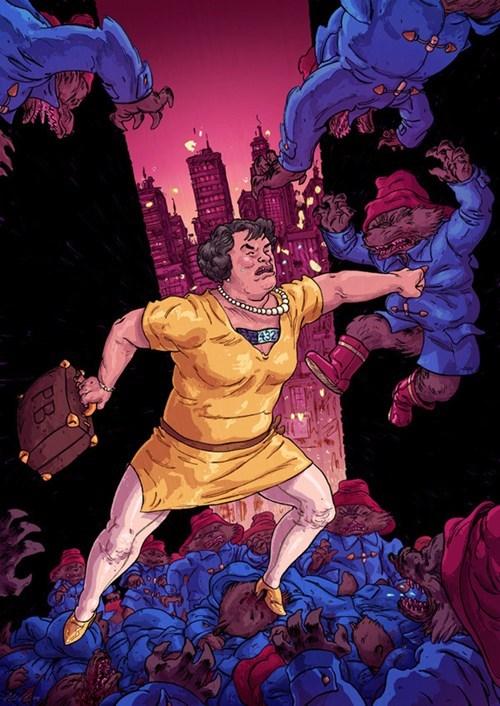 Susan Boyle vs. an Army of Paddington Bears