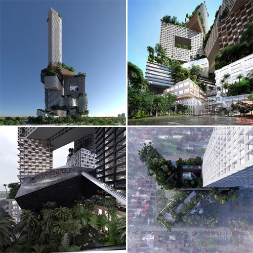 Nice Structure of the Day: Peruri 88 Proposal in Jakarta, Indonesia