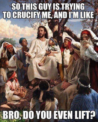 Lol Jesus, Always a Kidder