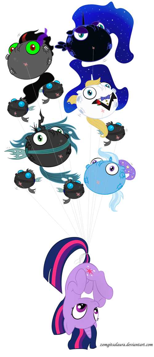 Evil Balloon Party!