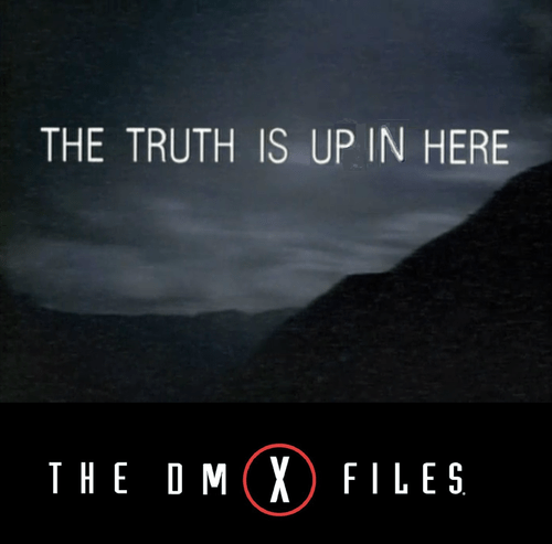 Music,dmx,TV,the x-files,90s,funny