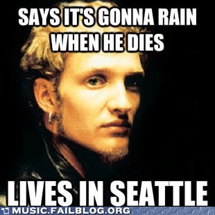 seattle,alice in chains,rain