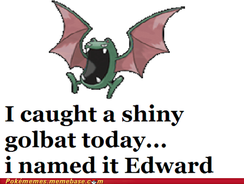 edward,shiny,twilight,golbat