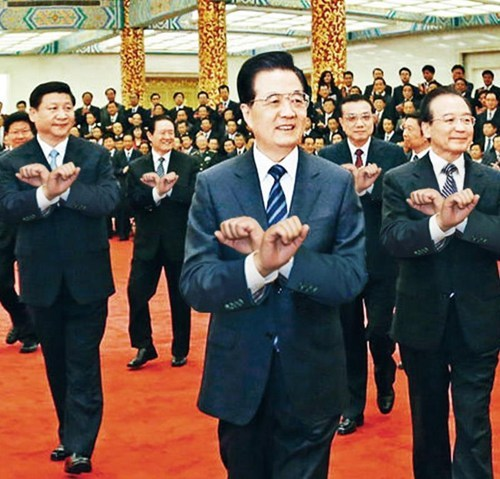 "This Looks Shopped of the Day: Chinese Leaders Do ""Gangnam Style"""