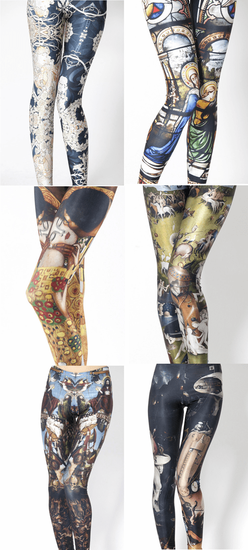 famous art,leggings