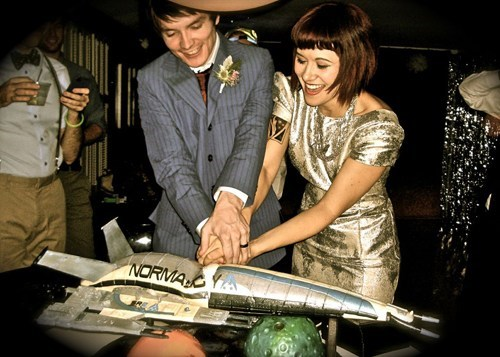 Space and Time Wedding