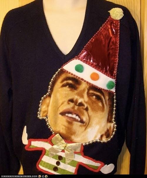 Holly Jolly Presidential Elf