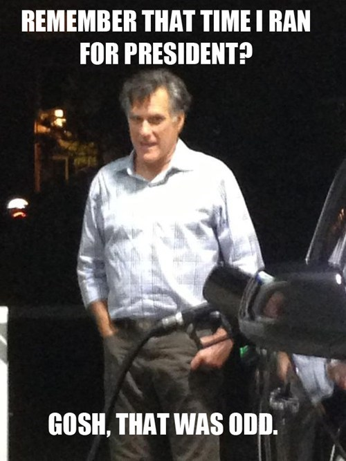 odd,Mitt Romney,president,election,remember