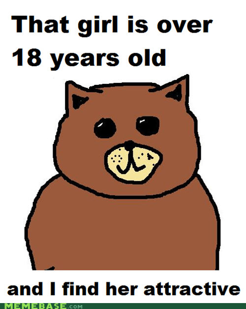 Legal age Bear strikes again