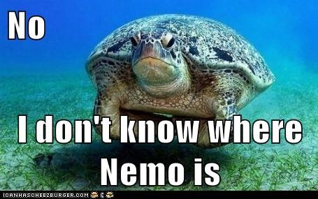 No  I don't know where Nemo is