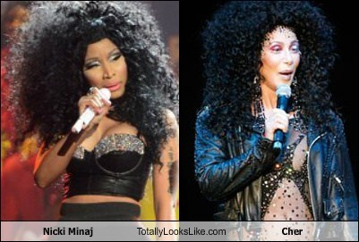 Nicki Minaj Totally Looks Like Cher
