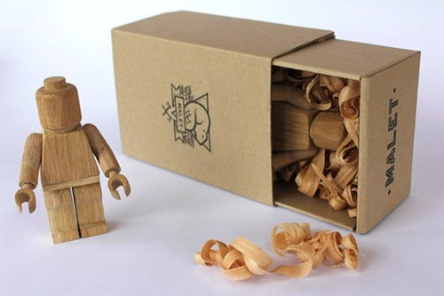 Wood LEGO WIN