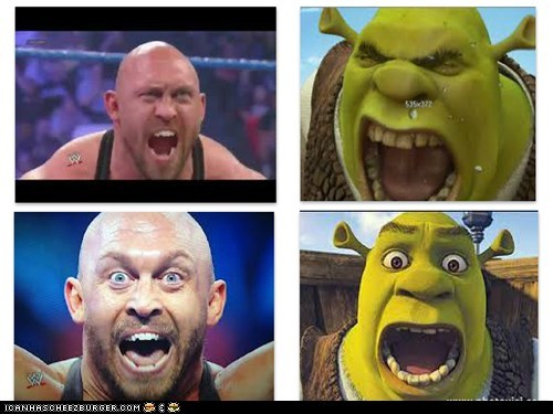 WWE wrestler Ryback has finally met his match!