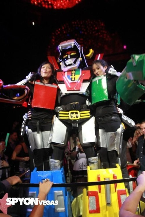 Voltron Costume WIN
